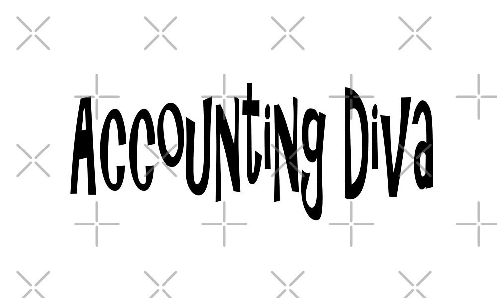 Accounting Diva - Funny Accounting T Shirt  by greatshirts