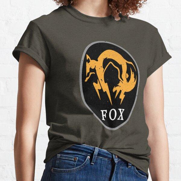 MGS - FOX Logo Classic T-Shirt