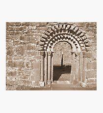 Dysert O Dea arch Photographic Print