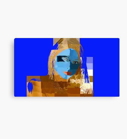 I'm Feelin' Blue Canvas Print