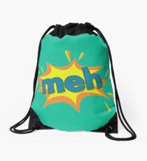 An Enthusiastic Meh Drawstring Bag