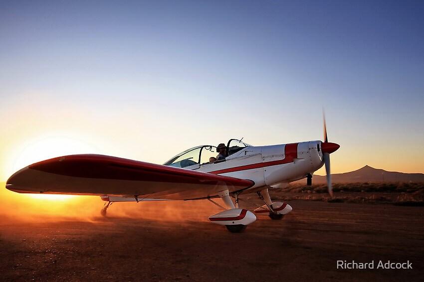 final flight by Richard Adcock