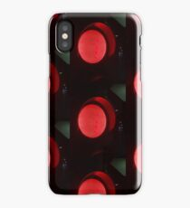 Red traffic light iPhone Case