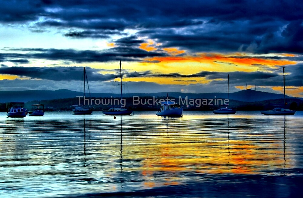 BREAK IN THE WEATHER by Throwing  Buckets Magazine