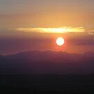 Sunset from Tamborine Mountain #2 by Virginia McGowan