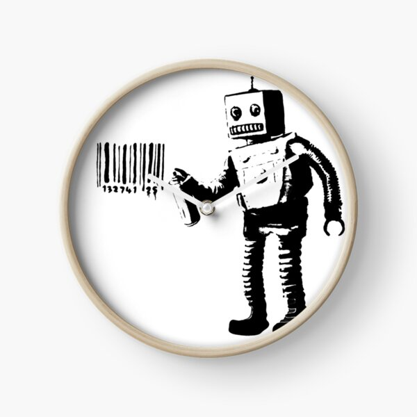 Banksy - Robot Clock