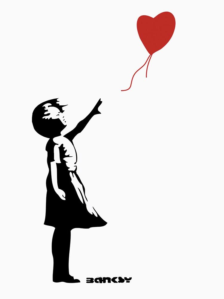 Banksy - Girl Red Balloon by URBANZ