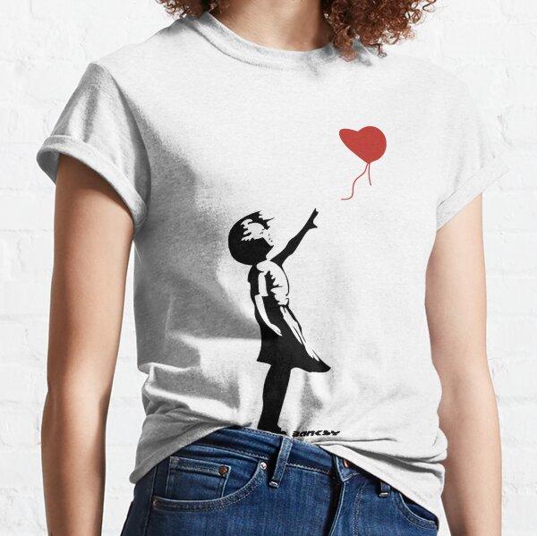 Banksy - Girl Red Balloon Classic T-Shirt