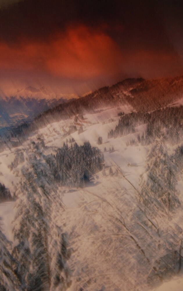 painterly snowscape by TMRiley