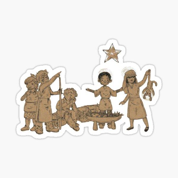 Christmas Play Sticker