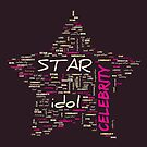 Star Word Cloud 2 by Cheri Sundra