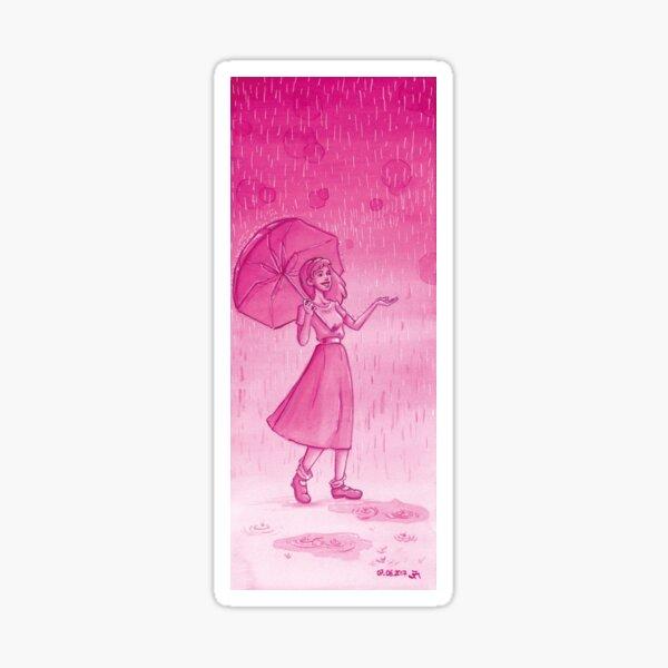 Ein regnerischer Tag Sticker