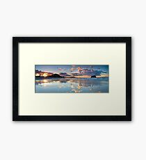 Tay Street ~ Low Tide Blush Framed Print