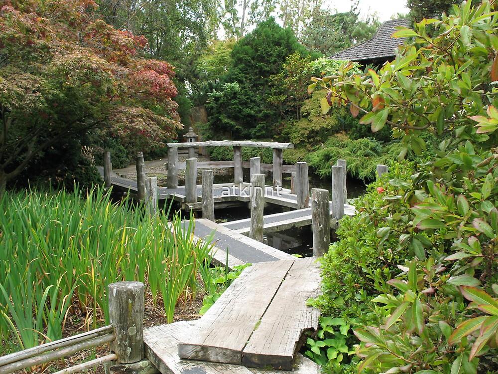 Japanese Garden Bridge by atkinnt
