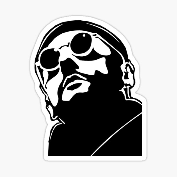 Jean Reno Leon Sticker