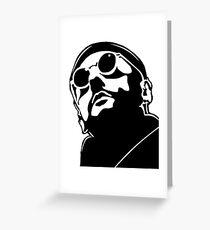 Jean Reno Leon Greeting Card