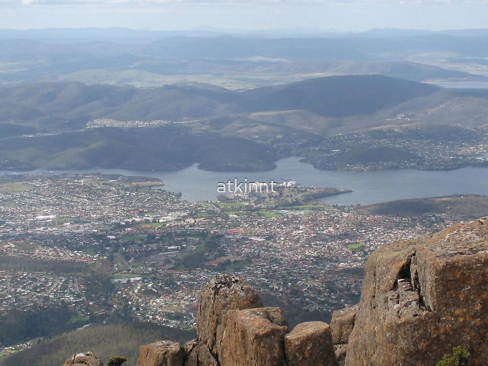 Hobart Mt Wellington by atkinnt