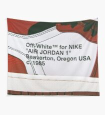 Off White for Nike Air jordan 1 Wall Tapestry
