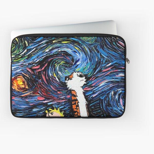 calvin art hobbies Laptop Sleeve