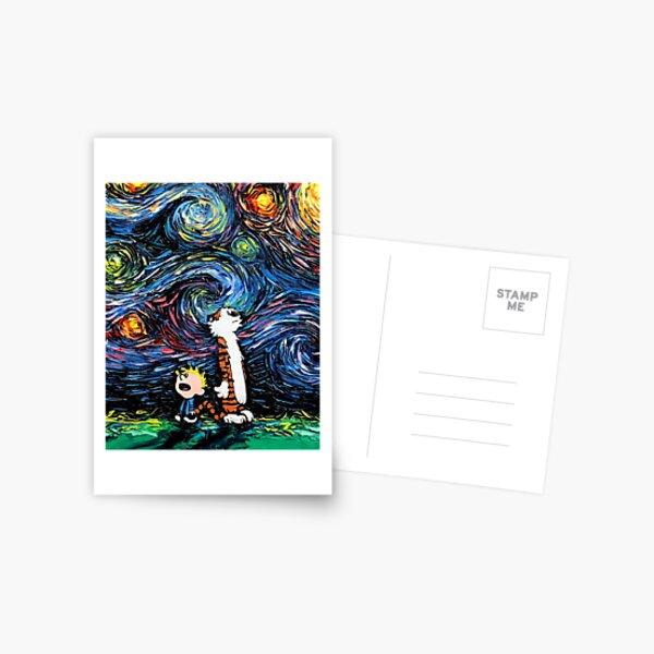 calvin art hobbies Postcard