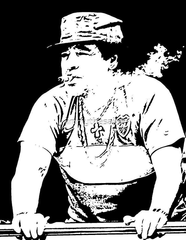 maradona by jimmythesaint