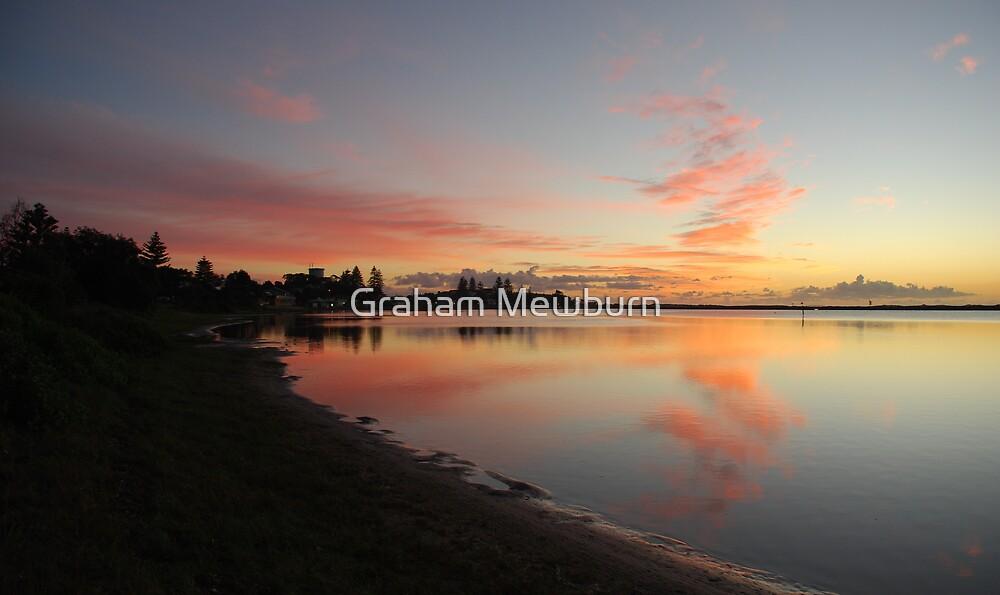 Harrington Broadwater Sunrise by Graham Mewburn