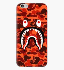 Bape Shark Orang Camo iPhone Case