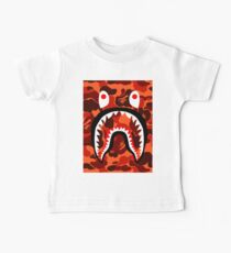 Bape Shark Orang Camo Baby Tee