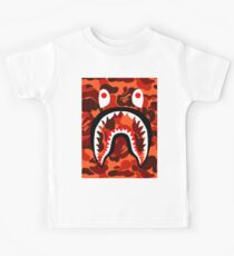 Bape Shark Orang Camo Kids Tee