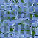 Agapantha Mosaic by Sue Cotton
