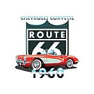 CHEVROLET CORVETTE 1960  by karmadesigner