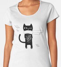Black Cat Women's Premium T-Shirt