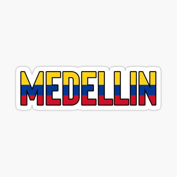 Medellin Colombia / Colombian Colombia Bogota Sticker