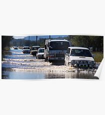 Harrington Road Flooded Poster