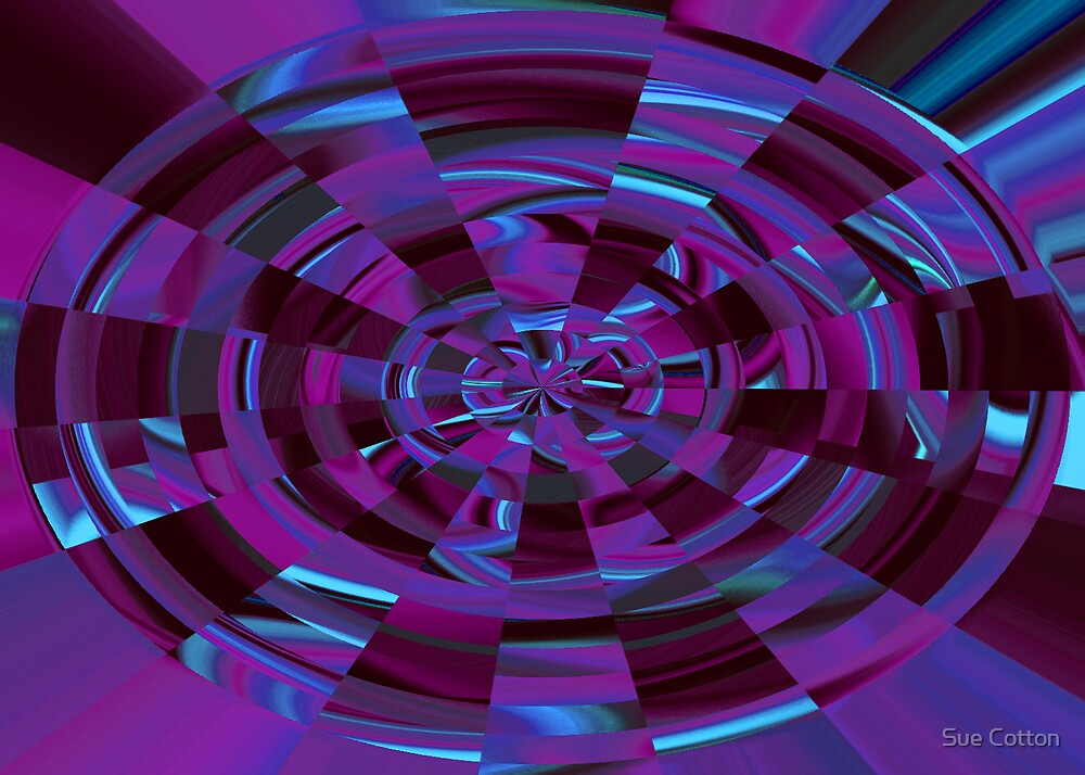 Circular Mosaic by Sue Cotton