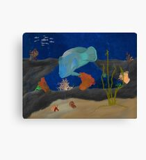 Humphead Wrasse Canvas Print