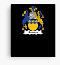 Stratton Coat of Arms - Family Crest Shirt Canvas Print