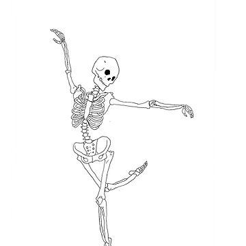 Dancing Skeleton by chr0nicles