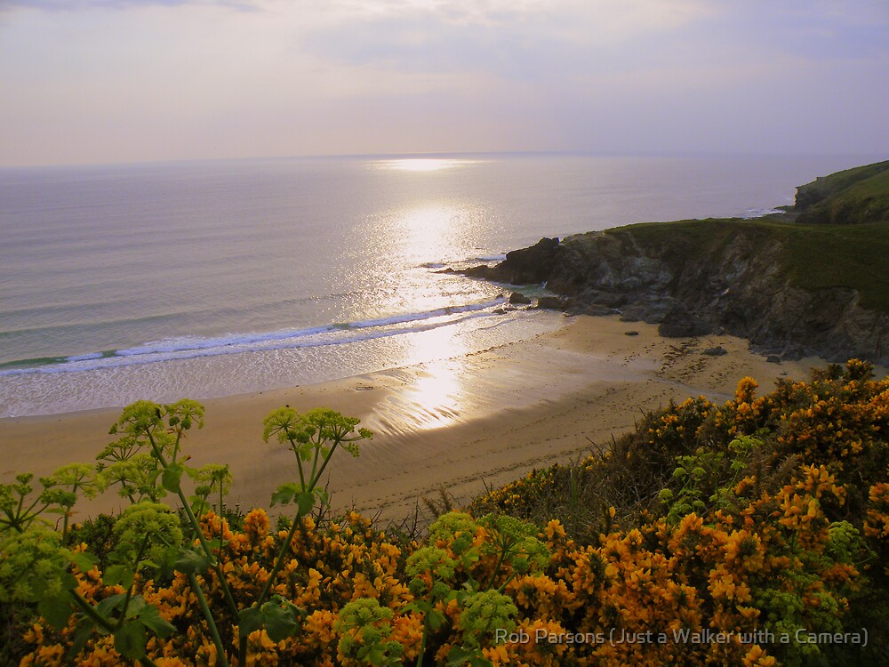 Cornwall: Polrurrian Cove by Rob Parsons (AKA Just a Walker with a Camera)
