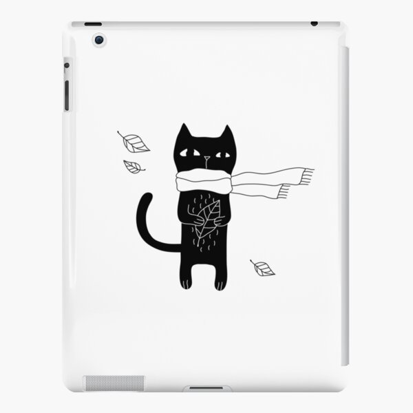 Black Cat iPad Snap Case