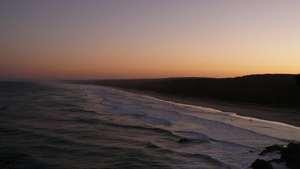 Island Sunset by Daniel Peut