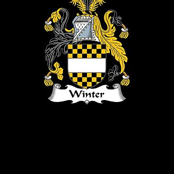 Winter Coat of Arms - Family Crest Shirt by FamilyCrest