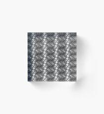 Black Beauty - Pattern Acrylic Block