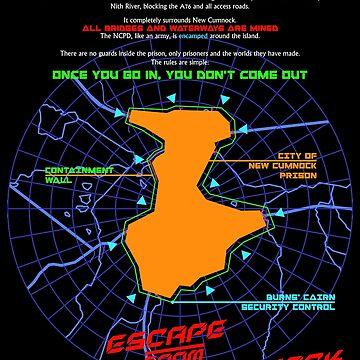 Escape From New Cumnock Orientation Map by OctoberFifteen