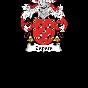 Zapata Coat of Arms - Family Crest Shirt by FamilyCrest