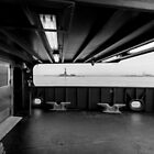 Statue of Liberty thru The Ferry by Sean Sweeney
