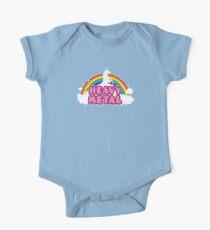 HEAVY METAL! (Funny Unicorn / Rainbow Mosh Parody Design) Kids Clothes