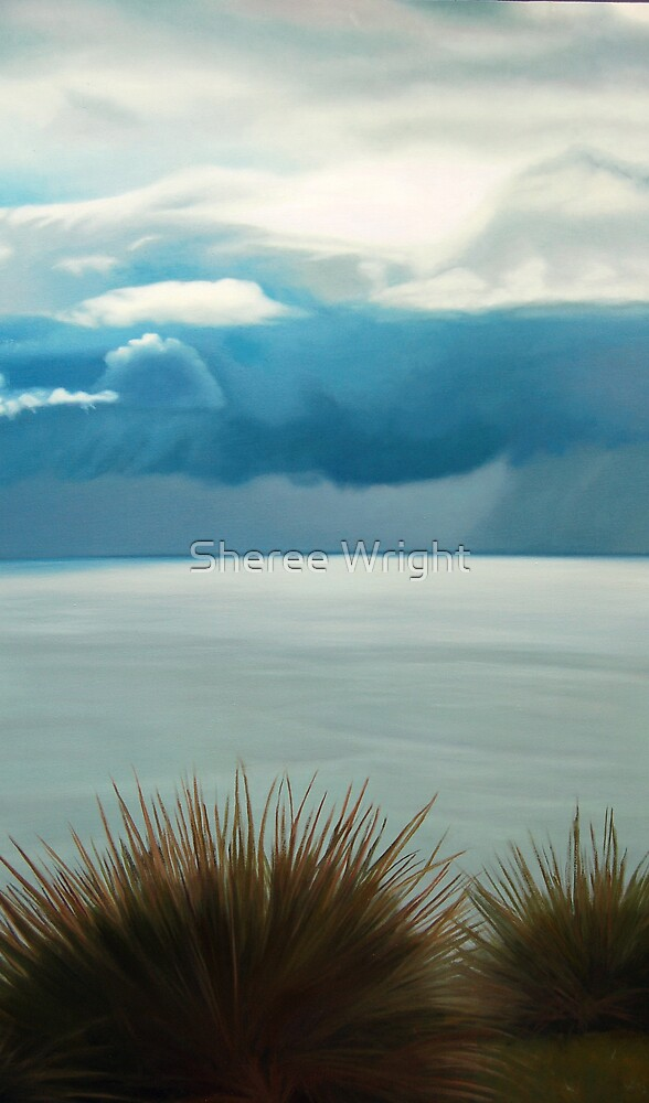 Passing Storm - Oil on canvas by Sheree Wright