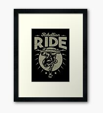 Rebellion ride Framed Print