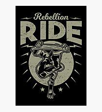 Rebellion ride Photographic Print